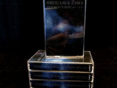 ANDERS LIAR & JOHN H - astronom sessions Vol.1 & 2 - BRAND NEW CASSETTE TAPE