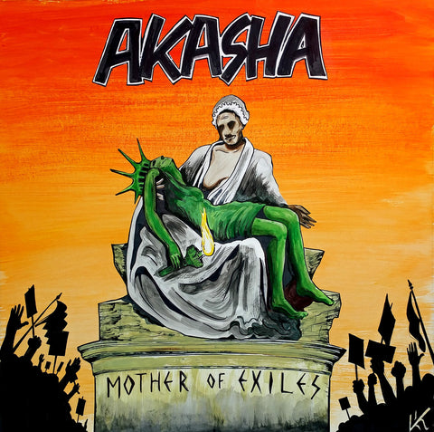 AKASHA - mother of exiles - BRAND NEW CASSETTE TAPE