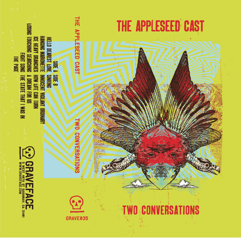 THE APPLESEED CAST - two conversations - BRAND NEW CASSETTE TAPE