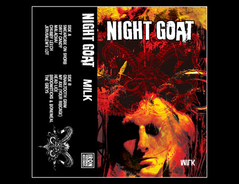 NIGHT GOAT - milk - BRAND NEW CASSETTE TAPE