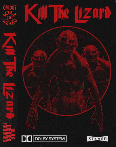 KILL THE LIZARD - Self Titled - BRAND NEW CASSETTE TAPE