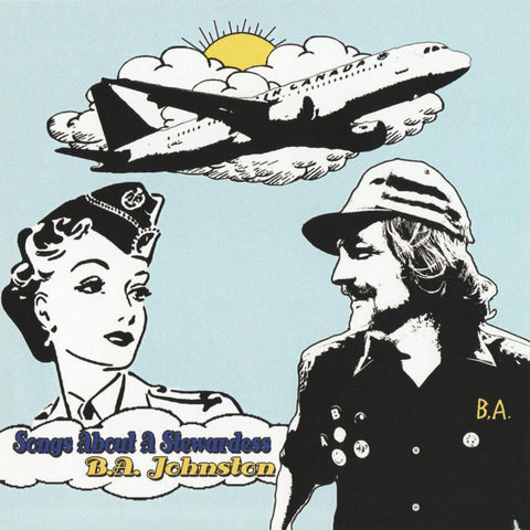 B.A. JOHNSTON - songs about a stewardess - BRAND NEW CASSETTE TAPE