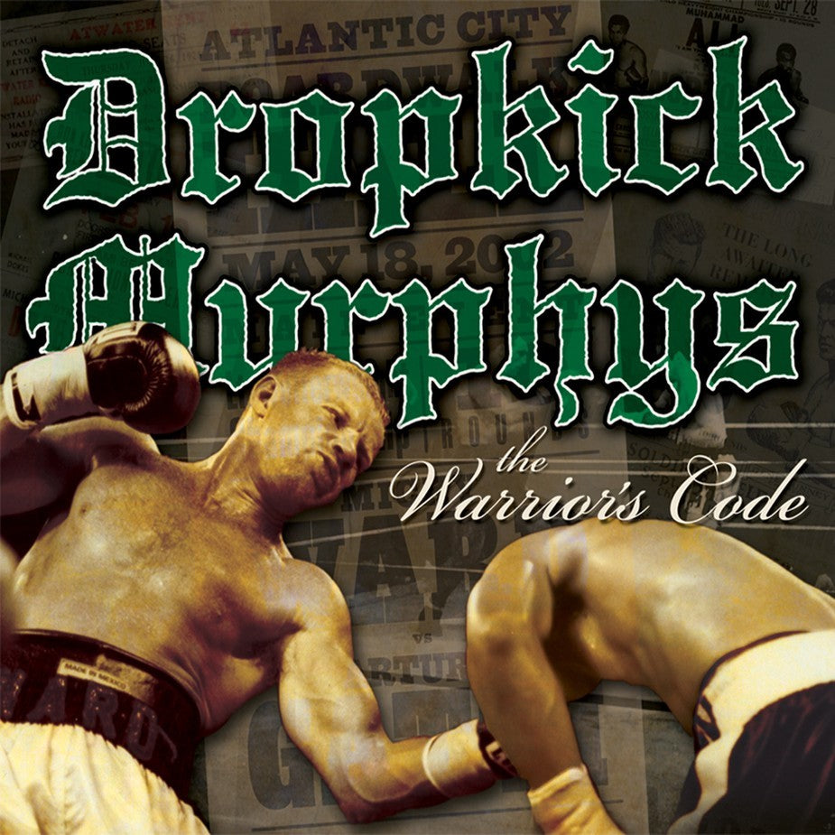 DROPKICK MURPHYS - the warriors code - BRAND NEW CASSETTE TAPE