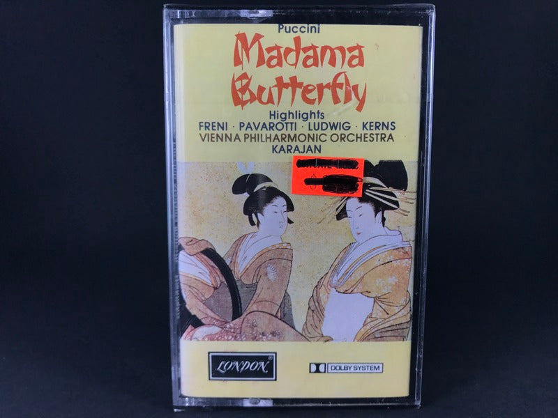 MADAMA BUTTERFLY (HIGHLIGHTS) - Puccini - BRAND NEW CASSETTE TAPE