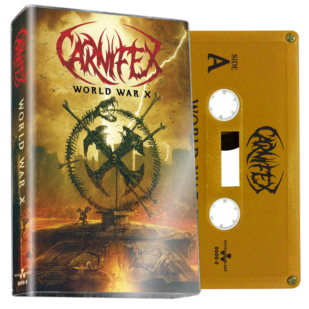 CARNIFEX - world war X - BRAND NEW CASSETTE TAPE