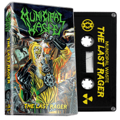 MUNICIPAL WASTE - The last rager - BRAND NEW CASSETTE TAPE [PRE-ORDER]
