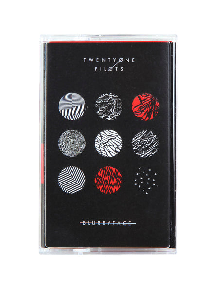 TWENTY ONE PILOTS - blurryface - BRAND NEW CASSETTE TAPE