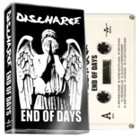 DISCHARGE - end of days - BRAND NEW CASSETTE TAPE