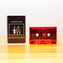 JAPANDROIDS - celebration rock - BRAND NEW SEALED CASSETTE TAPE