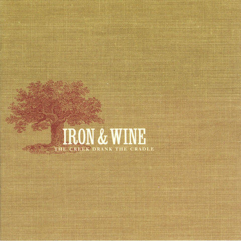 IRON & WINE - the creek drank the cradle - BRAND NEW CASSETTE TAPE