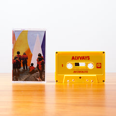 ALVVAYS - antisocialites - BRAND NEW CASSETTE TAPE