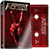 ACCEPT - Blood Of The Nations - BRAND NEW CASSETTE TAPE