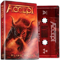 ACCEPT - Blind Rage - BRAND NEW CASSETTE TAPE