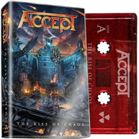 ACCEPT - The Rise Of Chaos - BRAND NEW CASSETTE TAPE
