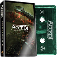 ACCEPT - Too Mean To Die - BRAND NEW CASSETTE TAPE