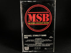 MICHAEL STANLEY BAND - msb - BRAND NEW CASSETTE TAPE