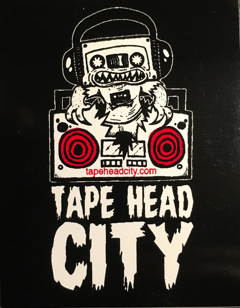 TAPEHEAD STICKER | Red speakers [2015] - [SOLD OUT]