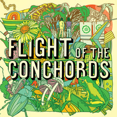 FLIGHT OF THE CONCHORDS - s/t - BRAND NEW CASSETTE TAPE