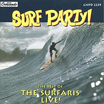 THE SURFARIS - best of live! - BRAND NEW CASSETTE TAPE