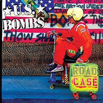 U.S. BOMBS - road case - BRAND NEW CASSETTE TAPE