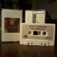 THE BANDULUS - love a woman - BRAND NEW CASSETTE TAPE - CSD2019