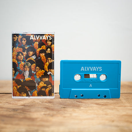 ALVVAYS - s/t - BRAND NEW CASSETTE TAPE
