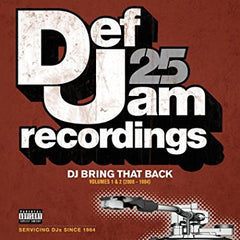 DEF JAM RECORDINGS - 25:  DJ bring that back (double cassette) - BRAND NEW SEALED TAPE