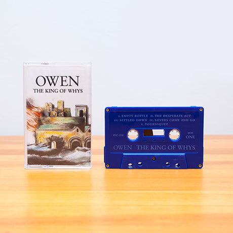 OWEN - the king of whys - BRAND NEW CASSETTE TAPE