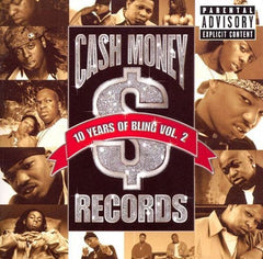 CASH MONEY MILLIONAIRES - 10 years of bling Vol. 2 - BRAND NEW SEALED CASSETTE TAPE