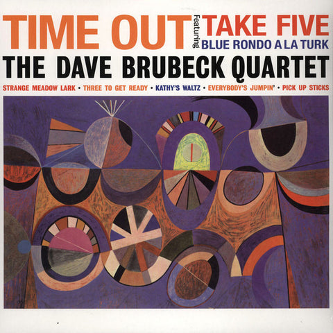 THE DAVE BRUBECK QUARTET - Time Out [re-issue] - BRAND NEW CASSETTE TAPE