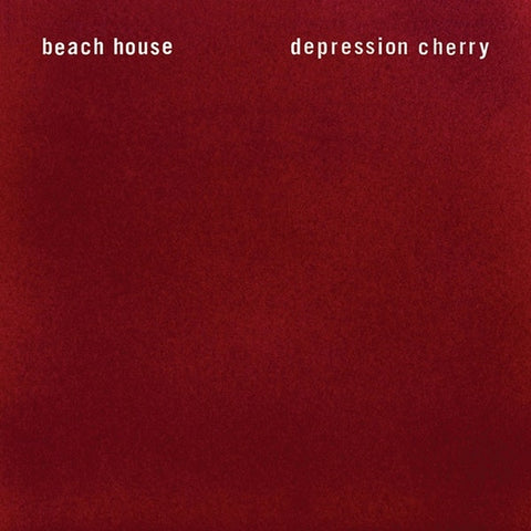 BEACH HOUSE - depression cherry - BRAND NEW CASSETTE TAPE [solid red]