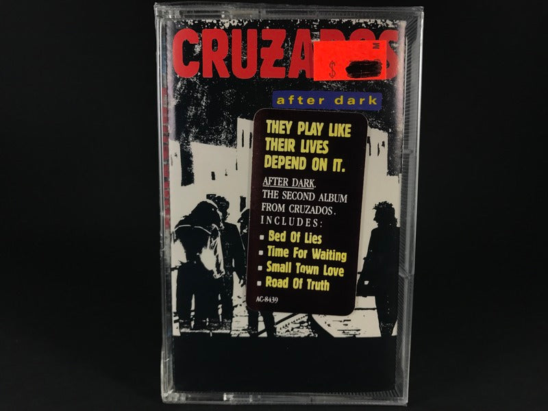 CRUZADOS - after dark - BRAND NEW CASSETTE TAPE