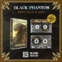BLACK PHANTOM - ZERO HOUR IS NOW - BRAND NEW CASSETTE TAPE