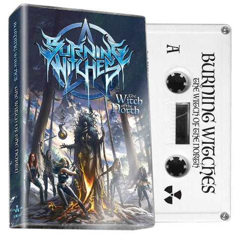 BURNING WITCHES - the witch of the north - BRAND NEW CASSETTE TAPE [pre-order]