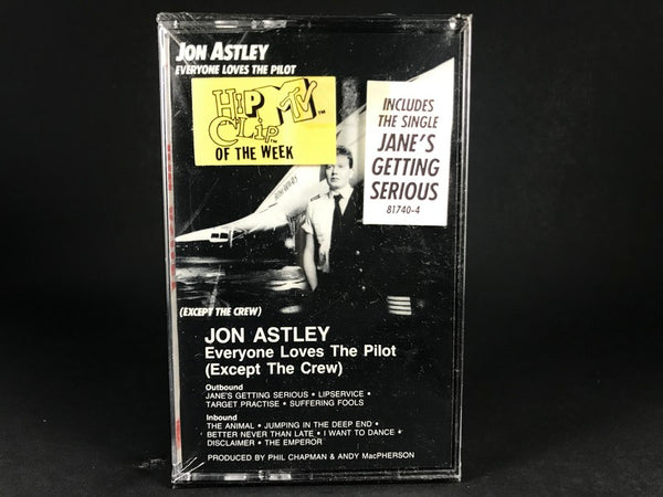 JON ASTLEY - Everyone Loves The Pilot (Except The Crew) - BRAND NEW CASSETTE TAPE