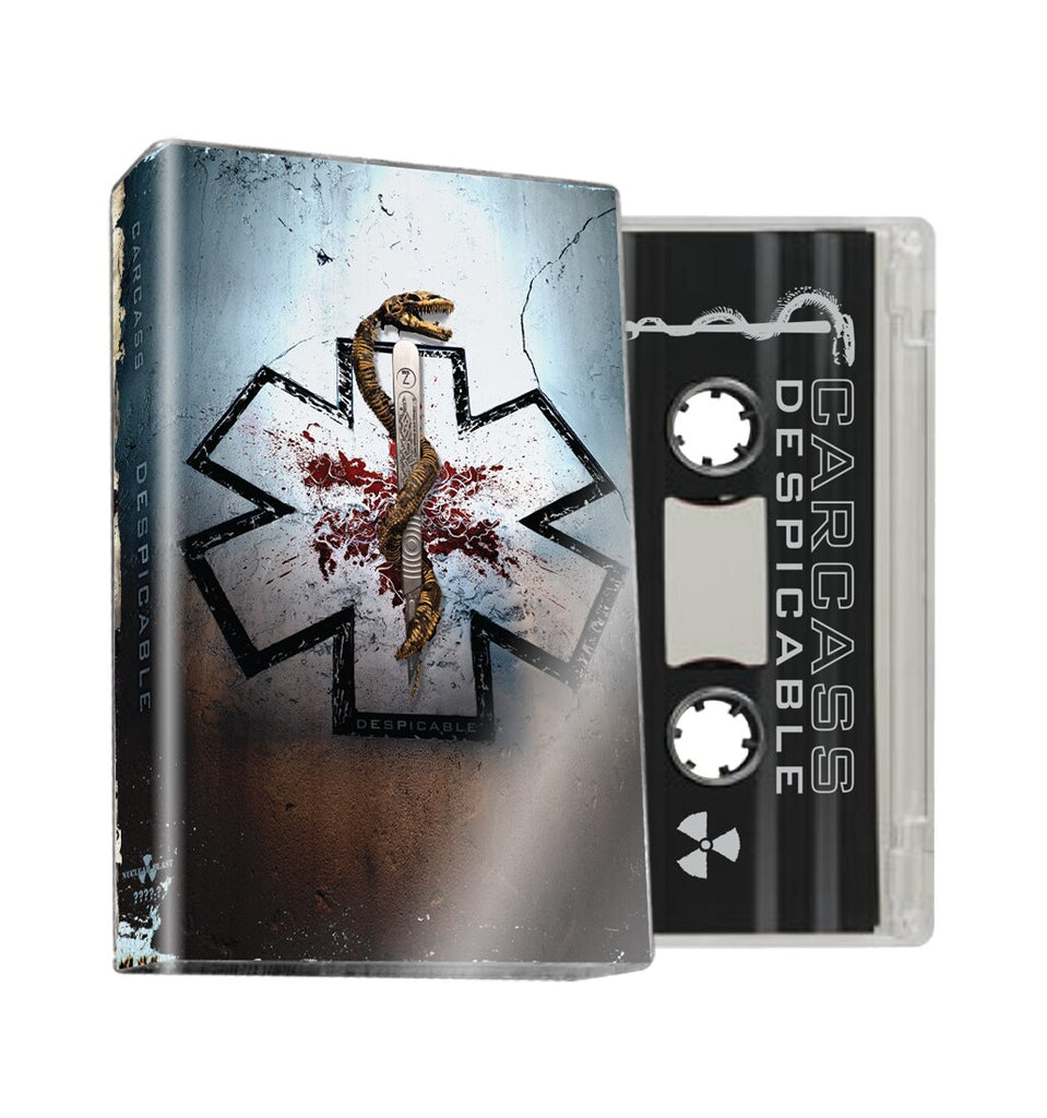 CARCASS - despicable EP - BRAND NEW CASSETTE TAPE