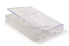 CLEAR NORELCO TAPE CASE - BRAND NEW