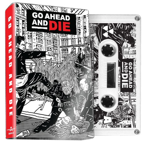 GO AHEAD AND DIE - s/t - BRAND NEW CASSETTE TAPE [pre-order]