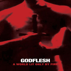 GODFLESH - a world lit only by fire - BRAND NEW CASSETTE TAPE