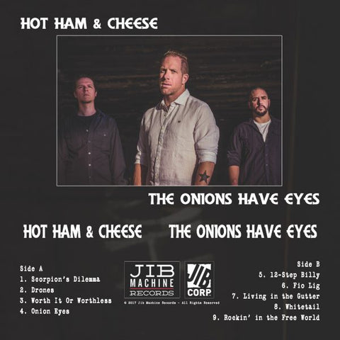 HOT HAM & CHEESE - the onions have eyes - BRAND NEW CASSETTE TAPE