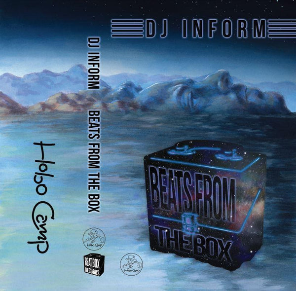 DJ UNIFORM - beats from the box - BRAND NEW CASSETTE TAPE