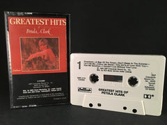 PETULA CLARK - greatest hits - CASSETTE TAPE