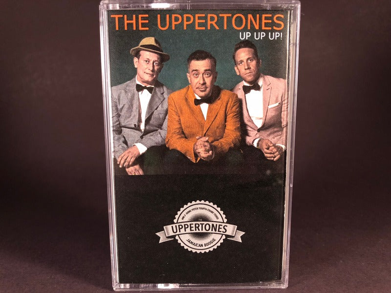 THE UPPERTONES - up up up! - BRAND NEW CASSETTE TAPE