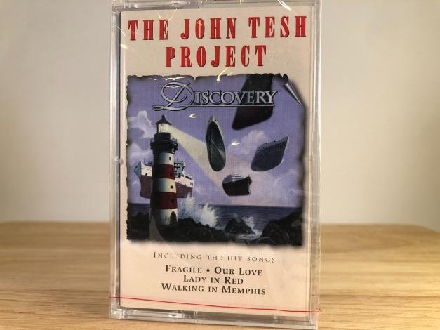 THE JOHN TESH PROJECT - discovery - BRAND NEW CASSETTE TAPE