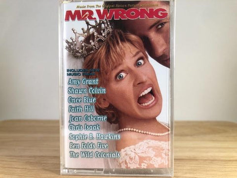 MR.WRONG - soundtrack - BRAND NEW CASSETTE TAPE