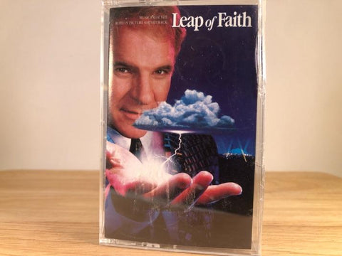 LEAP OF FAITH - soundtrack - BRAND NEW CASSETTE TAPE