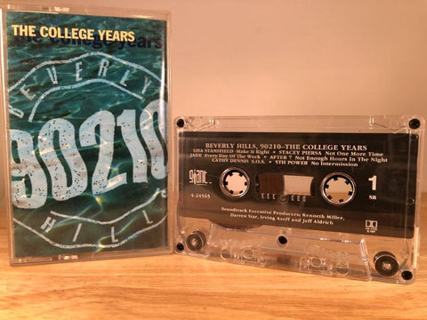 90210-THE COLLEGE YEARS - soundtrack - CASSETTE TAPE