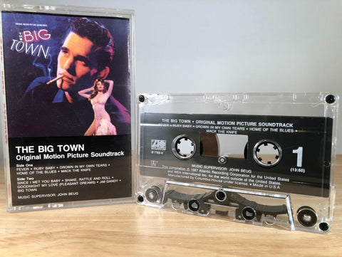 THE BIG TOWN - soundtrack - CASSETTE TAPE