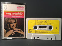 DUSTY SPRINGFIELD - golden hits - CASSETTE rock soul