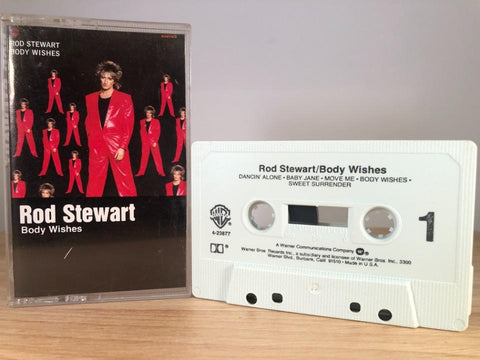 ROD STEWART - body wishes - CASSETTE TAPE
